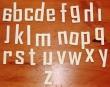 CKMC8 - Lower Case Font 1 - Alphabet
