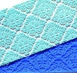 CRI12 - Damask Crystal candy lace matts