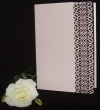 INCR1030 - Pack of 10 Filigree Single Fold A5 Invitation Cards