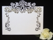 INCR1038 - Pack of 10 Rose Vine Place Cards