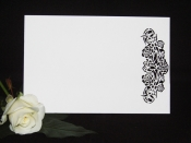 Pack of 10 Rose Vine RSVP Cards
